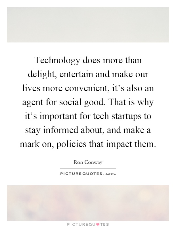 information technology does more goods than Read the pros and cons of the debate thbt: modern technology does more harm than good.