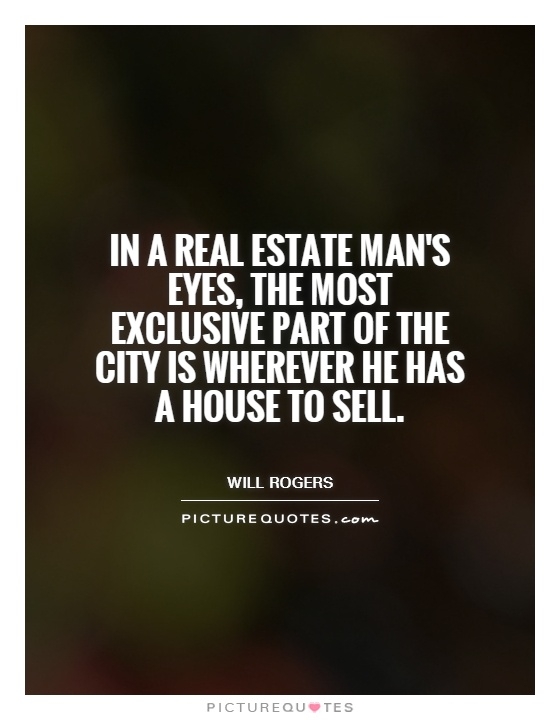 In A Real Estate ManS Eyes The Most Exclusive Part Of The City