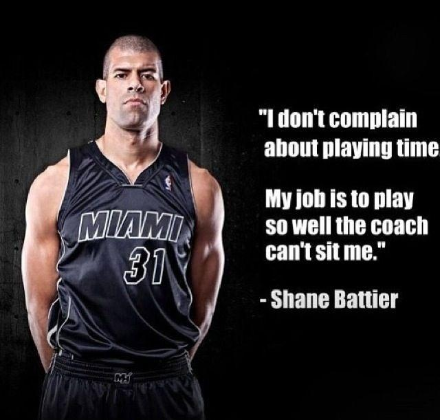 I don't complain about playing time. My job is to play so well the coach can't sit me Picture Quote #1