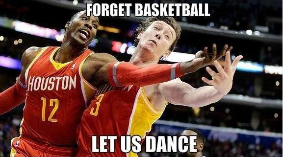 Forget basketball. Let's dance Picture Quote #1