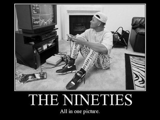 The nineties. All in one picture Picture Quote #1