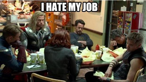 I hate my job Picture Quote #1