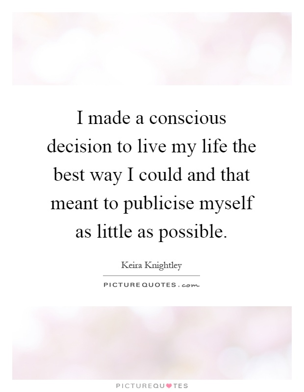 the greatest decision in my life The baby decision: how to make the most important choice of your life [merle  bombardieri msw licsw] on amazoncom free shipping on qualifying.