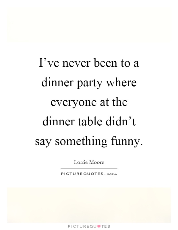 dinner quotes funny