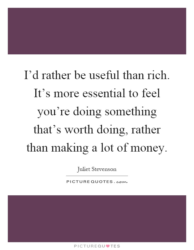 how to create something and get rich