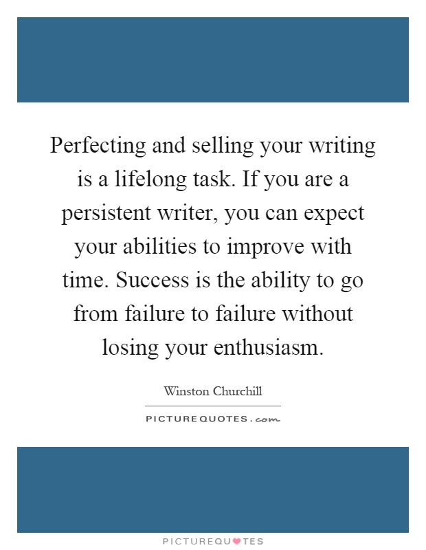 Is it possible to lose your ability as a writer over time?