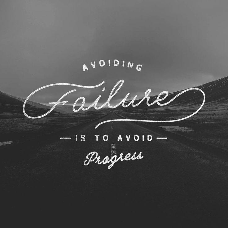 Avoiding Failure Is To Avoid Progress Picture Quote #1