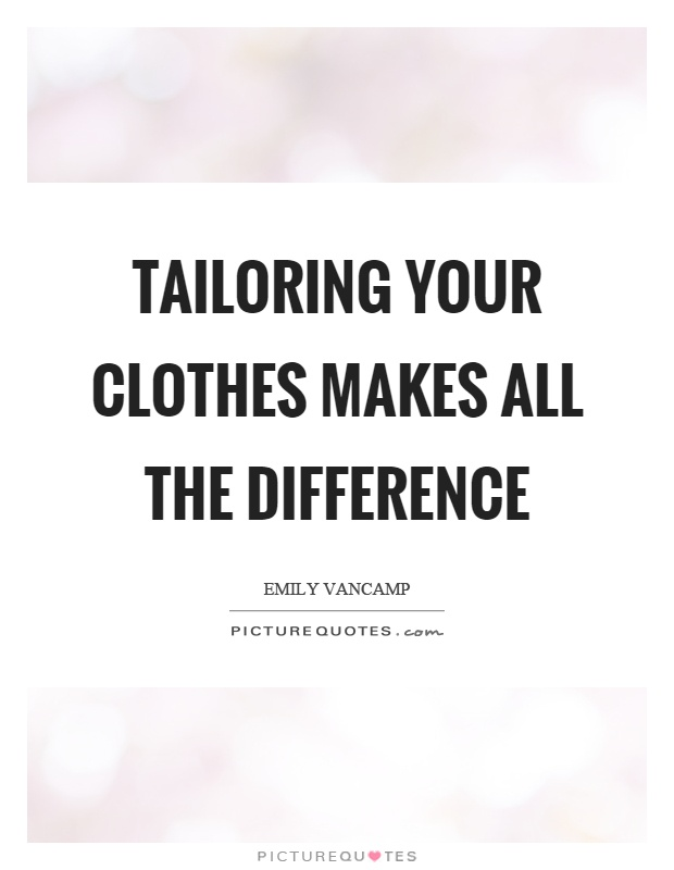 clothes make the difference As a result, galinsky says their findings show that it's not just the experience of wearing the clothes, but the symbolic meaning they hold for people it's the simultaneous combination of the posture or the clothes and the symbolic meaning of them that matters, he says.