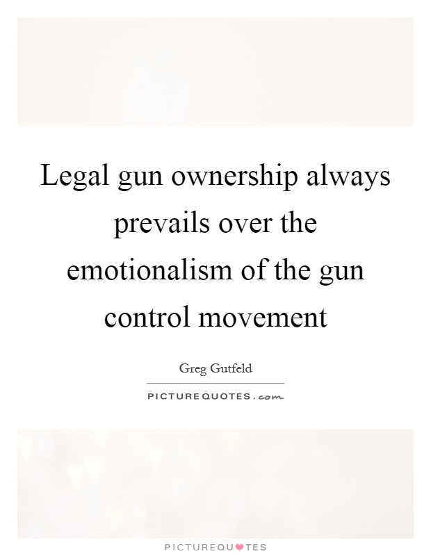an analysis of the constitutional law on gun control The court employed a kind of historical analysis,  gun control law is constitutional requires a  gun control deference—firearm localism all .