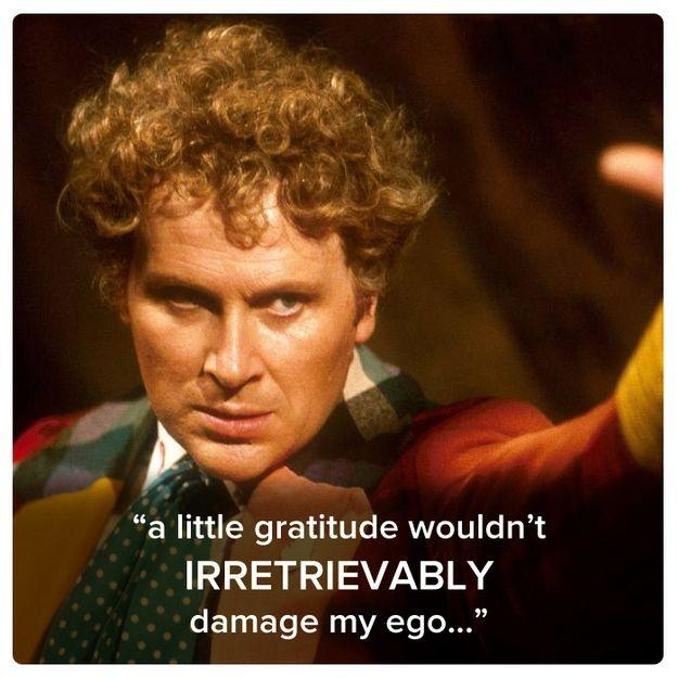 A little gratitude wouldn't irretrievably damage my ego Picture Quote #1