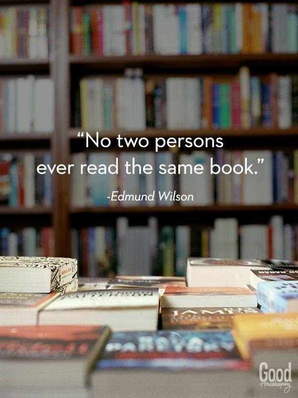 No two persons ever read the same book Picture Quote #1