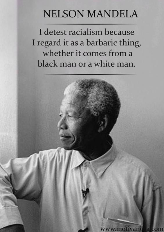 I detest racialism, because I regard it as a barbaric thing, whether it comes from a black man or a white man Picture Quote #1
