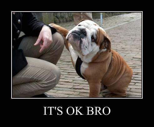 It's ok bro Picture Quote #1