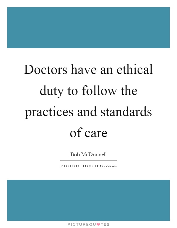 principles for implementin duty of care Implementing results-based management systems in zimbabwe:  putting in mind that every government agency has the duty of accountability  universal health care.