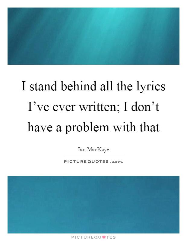 stand proud lyrics