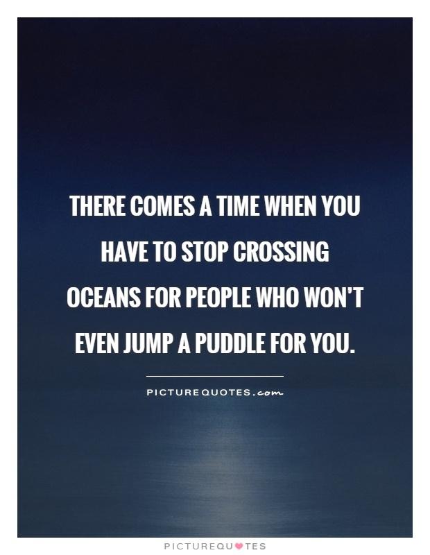 stop crossing oceans for people