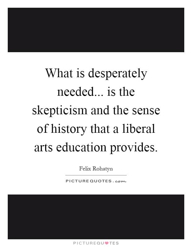 liberal arts broad education lifelong success