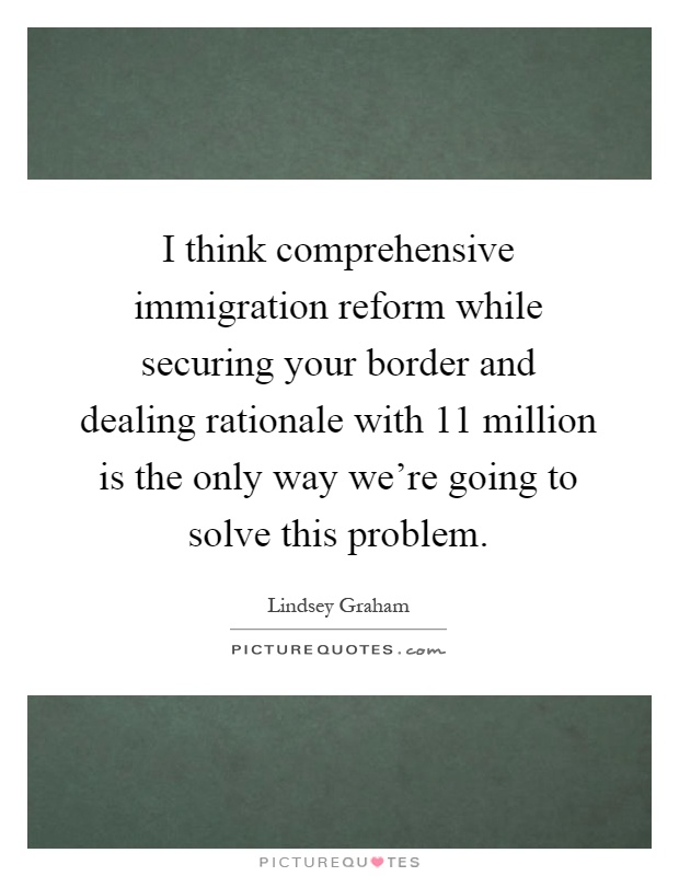 comprehensive immigration reform essays on success