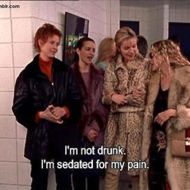 I'm not drunk. I'm sedated for my pain Picture Quote #1