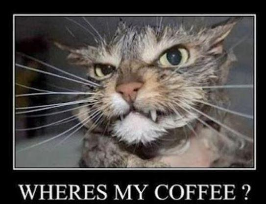 Where's my coffee? Picture Quote #1