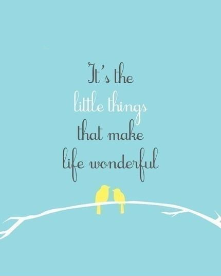 Little Things That Matter Quotes See All Little Things Quotes