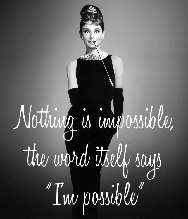 Nothing is impossible, the word itself says 'I'm possible' Picture Quote #2