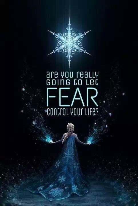 Are you really going to let fear control your life? Picture Quote #1