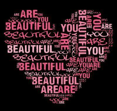You are beautiful Picture Quote #1