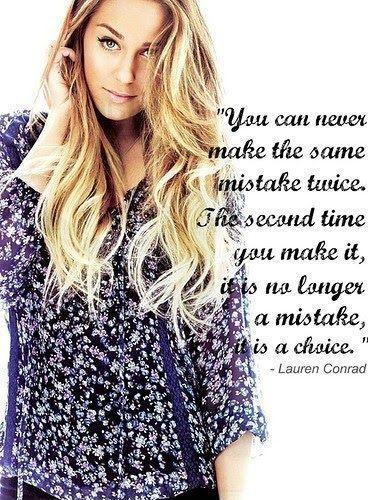 You never make the same mistake twice. The second time you make it, it is no longer a mistake. it is a choice Picture Quote #1