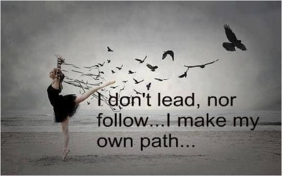 There's A Difference Between Knowing The Path And Walking
