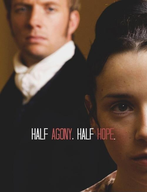 I am half agony, half hope Picture Quote #3
