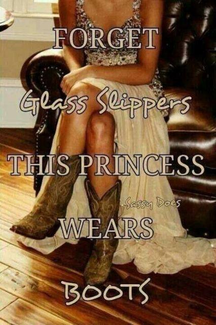 Forget glass slippers, this princess wears boots Picture Quote #1