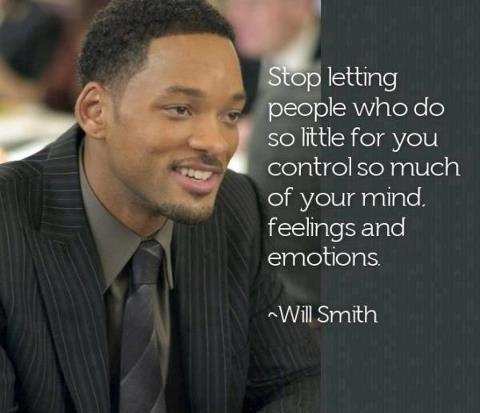 Stop letting people who do so litle for you control so much of your mind, feelings and emotions Picture Quote #1