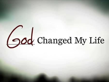 God changed my life Picture Quote #1