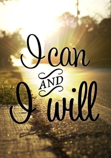 I can and i will Picture Quote #1