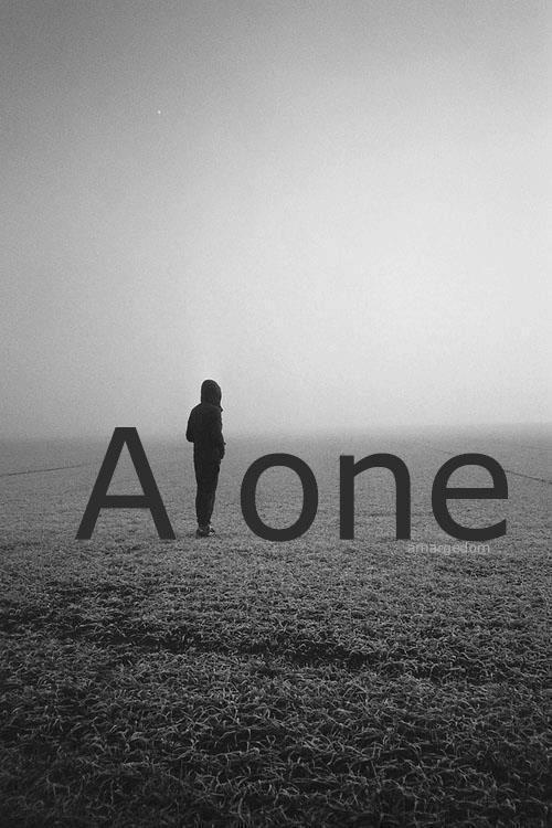 Alone Picture Quote #2