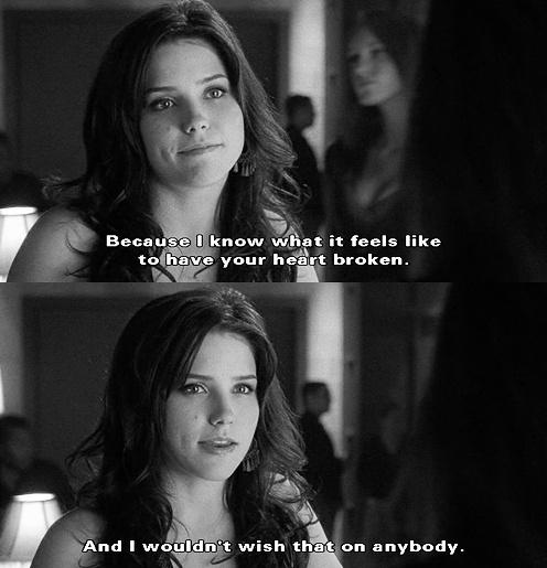 Because I know what it feels like to have your heart broken. And I wouldn't wish that on anybody Picture Quote #1