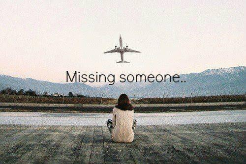 Missing someone Picture Quote #1