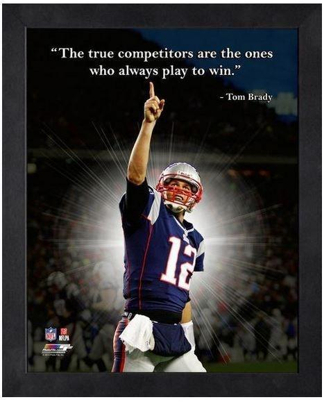 The true competitors are the ones who always play to win Picture Quote #1