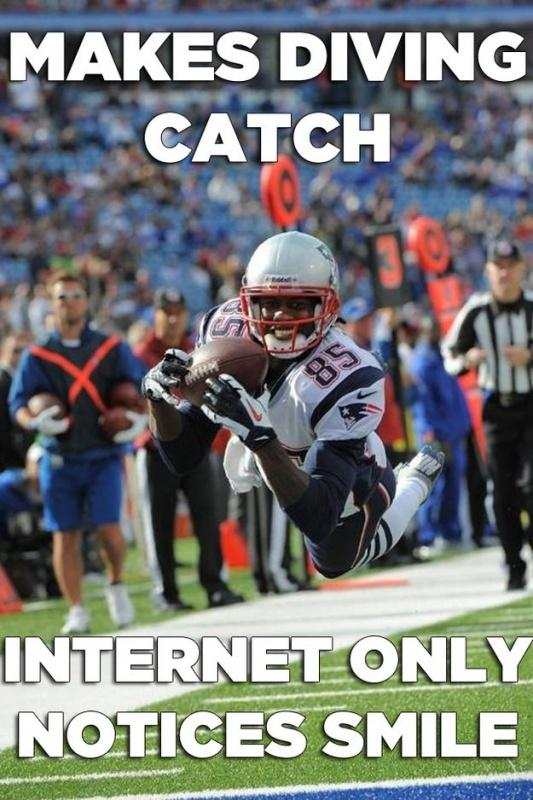 Makes diving catch. Internet only notices smile Picture Quote #1