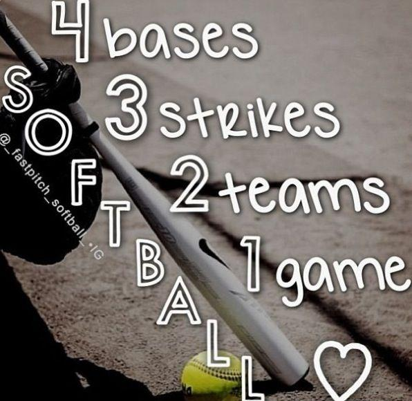 4 Bases. 3 Strikes. 2 Teams. 1 Game Picture Quote #1