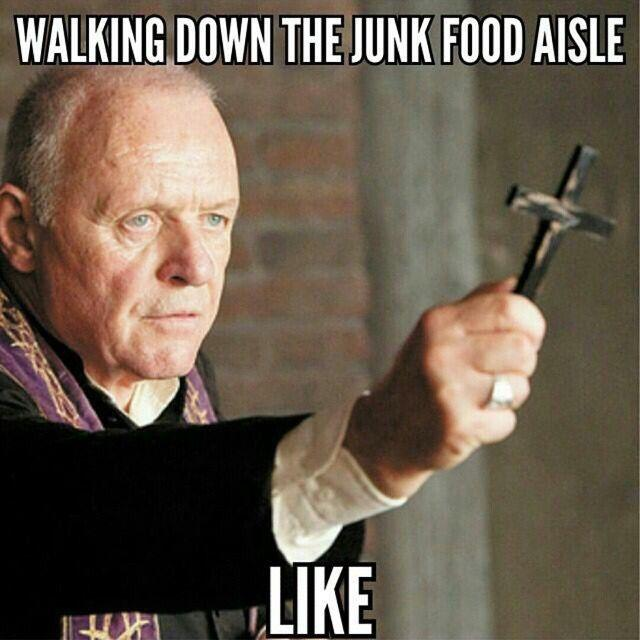Walking down the junk food aisle like Picture Quote #1