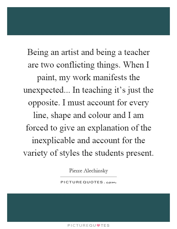 things about being a teacher