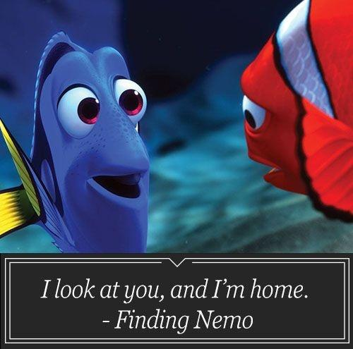 I look at you, and I'm home Picture Quote #1