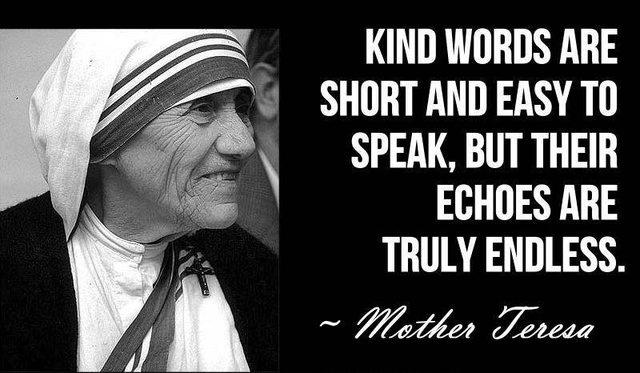 Kind words can be short and easy to speak, but their echoes are truly endless Picture Quote #2
