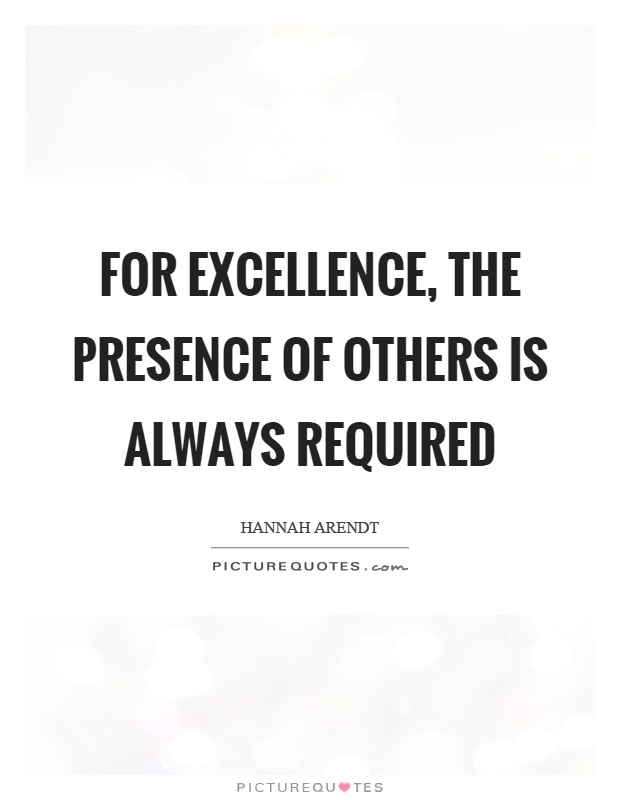 presences of others Explains how the elusive quality of executive presence actually can be developed to  developing executive presence course by  how you think about others.
