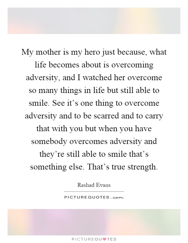 essay about my mother my hero