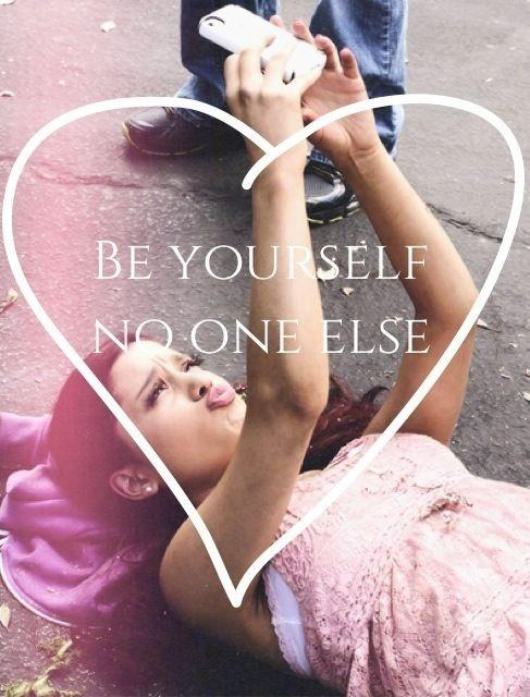 Be yourself. No one else Picture Quote #1