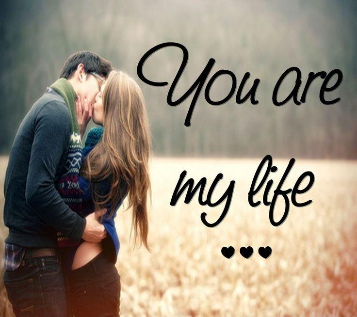 You are my life Picture Quote #1