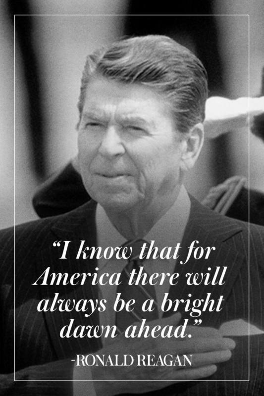 I know that for America there will always be a bright dawn ahead Picture Quote #1